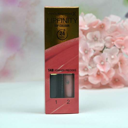 Max Factor Lipfinity Lip Colour, Farbe: 148 Forever Precious