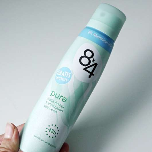 8×4 Pure Deodorant Spray