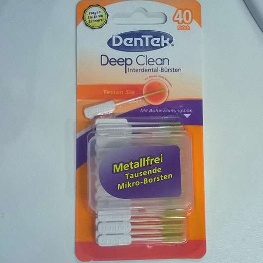 <strong>DenTek</strong> Deep Clean Interdental-Bürsten