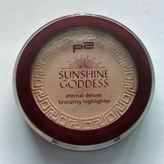 p2 sunshine goddess eternal deluxe bronzing highlighter, Farbe: refined golden (LE)