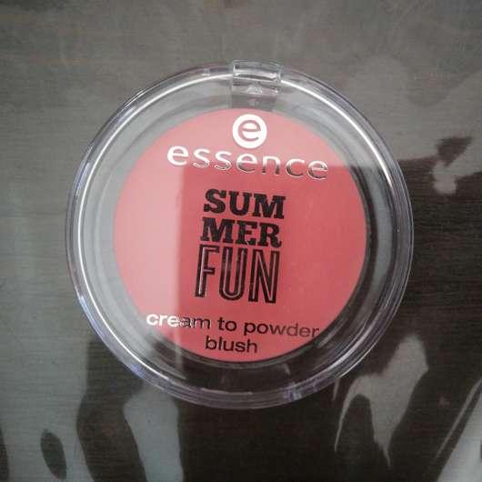 essence summer fun cream to powder blush, Farbe: 01 girls just wanna have sun (LE)