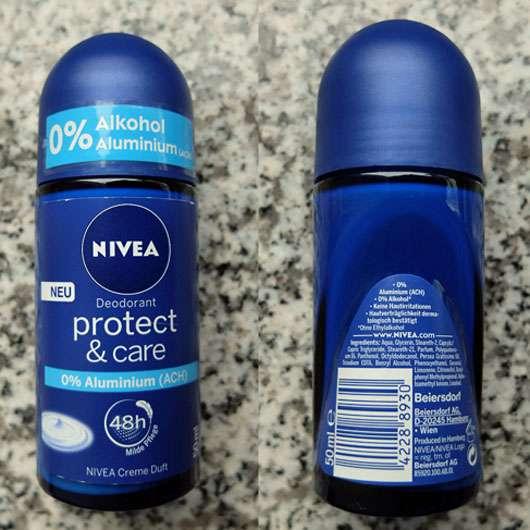 NIVEA PROTECT & CARE Deodorant Roll-On