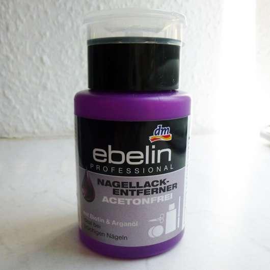 ebelin Professional Nagellackentferner Acetonfrei mit Biotin & Arganöl