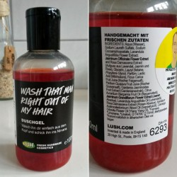 Produktbild zu LUSH Wash That Man Right Out Of My Hair (Duschgel)