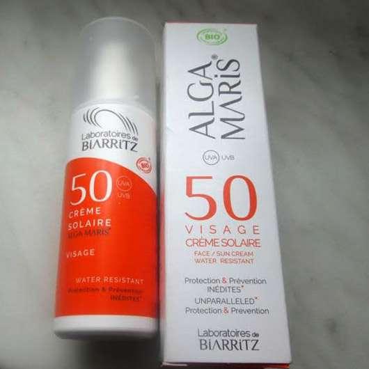 Algamaris Creme Solaire Visage SPF 50