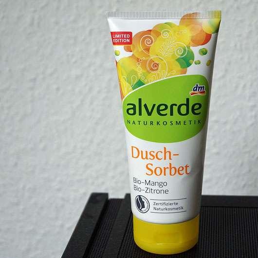 alverde Dusch-Sorbet Bio-Mango Bio-Zitrone (LE)