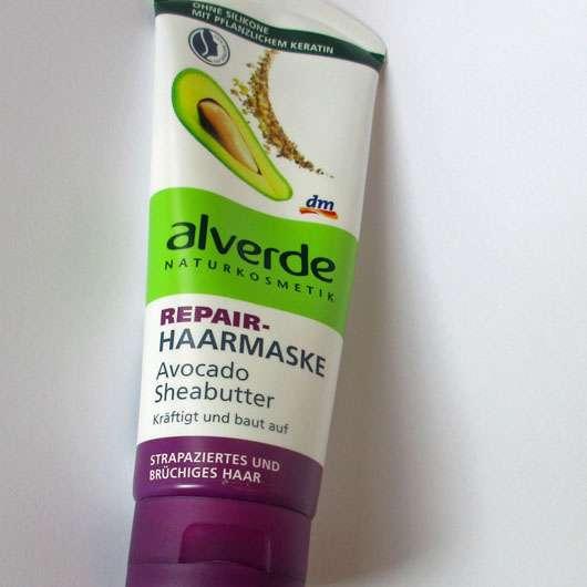 alverde Repair-Haarmaske Avocado Sheabutter