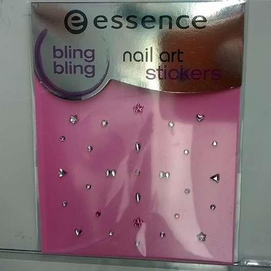 essence nail art stickers, Design: 02 bling bling