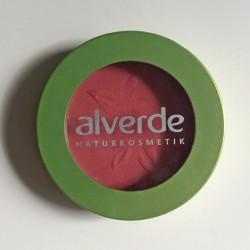 Produktbild zu alverde Naturkosmetik Puderrouge – Farbe: 07 Flamingo