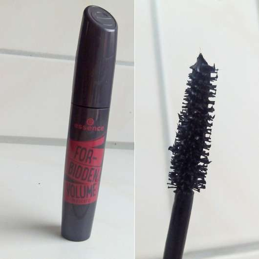 essence forbidden volume mascara, Farbe: black