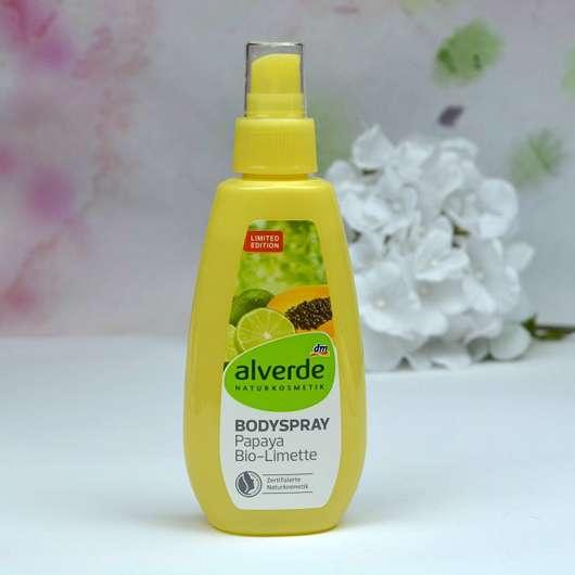 alverde Bodyspray Papaya Bio-Limette (LE)
