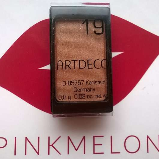 Artdeco Eyeshadow, Farbe: 19 pearly bright nougat cream (Pearl)