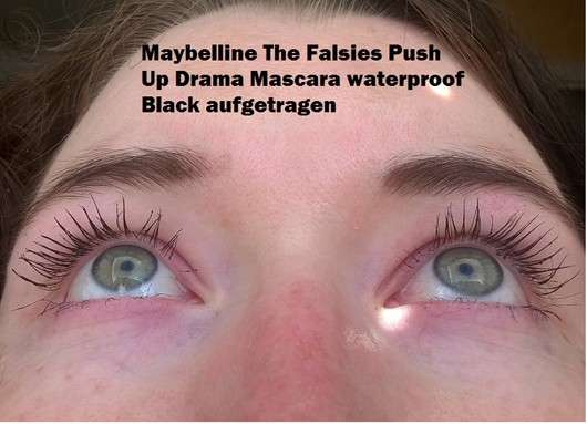 Maybelline The Falsies Push Up Drama Mascara waterproof, Farbe: Black