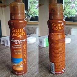 Produktbild zu SunOzon Selbstbräunungsspray für normale & dunkle Haut