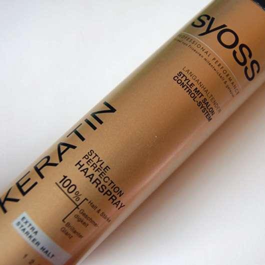 SYOSS KERATIN Style Perfection Haarspray