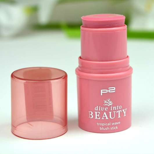 p2 dive into beauty tropical wave blush stick, Farbe: 010 pink mermaid (LE)