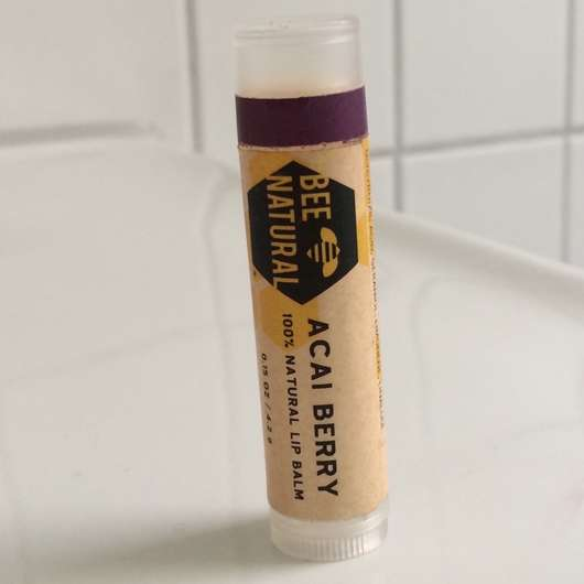 BEE NATURAL Acai Berry 100% Natural Lip Balm