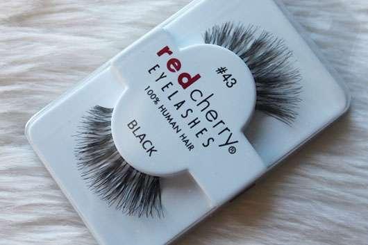 Test Für Die Augen Red Cherry Eyelashes Falsche Wimpern Nr 43