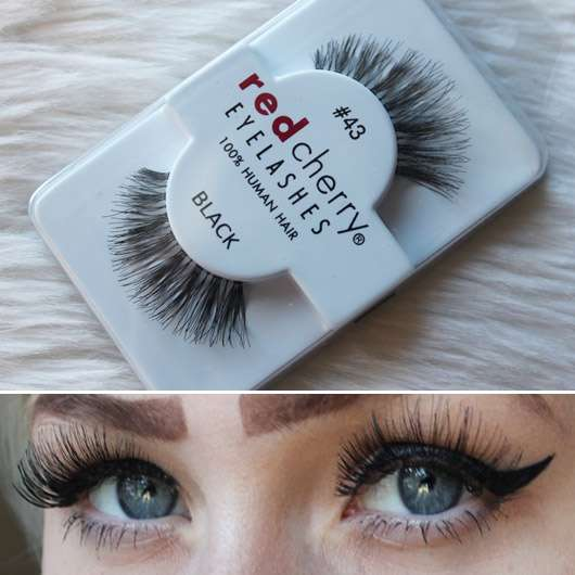 Red Cherry Eyelashes Falsche Wimpern Nr. 43 Stevi – Echthaar