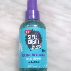 Produktbild zu ISANA HAIR Style2Create Volume Heat Styling Föhnspray