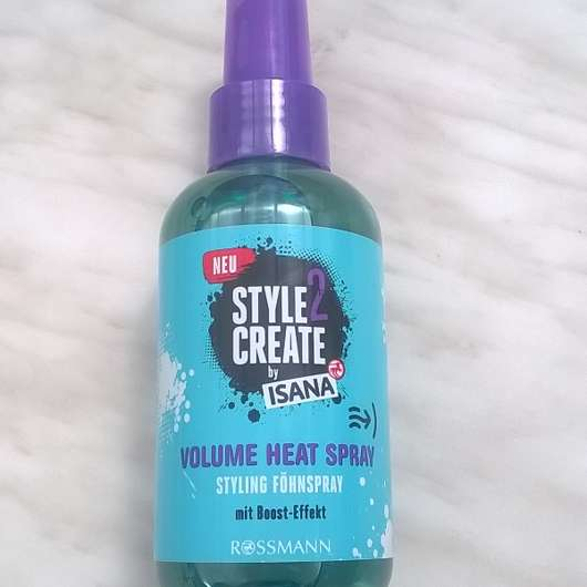ISANA Style2Create Volume Heat Styling Föhnspray