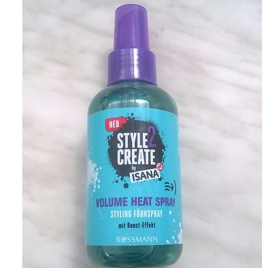 ISANA Style2Create Volume Heat Styling Föhnspray
