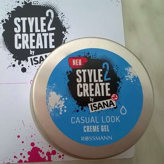 ISANA Style2Create Casual Look Creme Gel