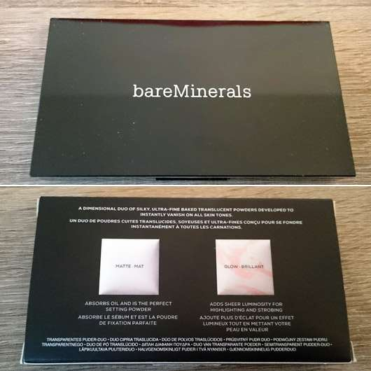bareMinerals Invisible Light Translucent Powder-Duo