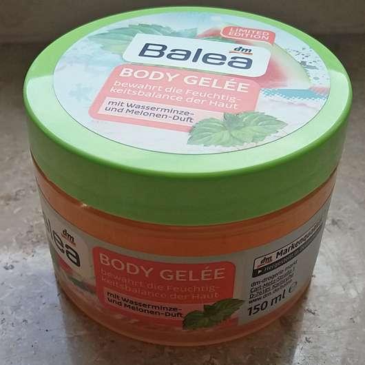 Balea Body Gelée mit Wasserminze- und Melonen-Duft (LE)