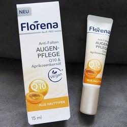Produktbild zu Florena Anti-Falten Augenpflege Q10 & Aprikosenkernöl
