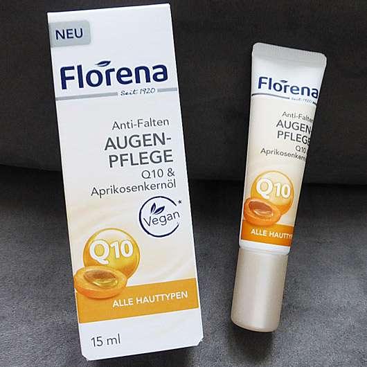 Florena Anti-Falten Augenpflege Q10 & Aprikosenkernöl