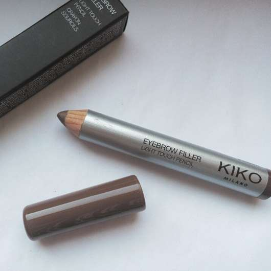 KIKO Eyebrow Filler Light Touch Pencil, Farbe: 03 Brunettes