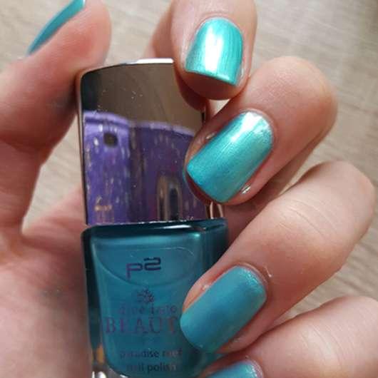 p2 dive into beauty paradise reef nail polish, Farbe: 040 emerald sea (LE)