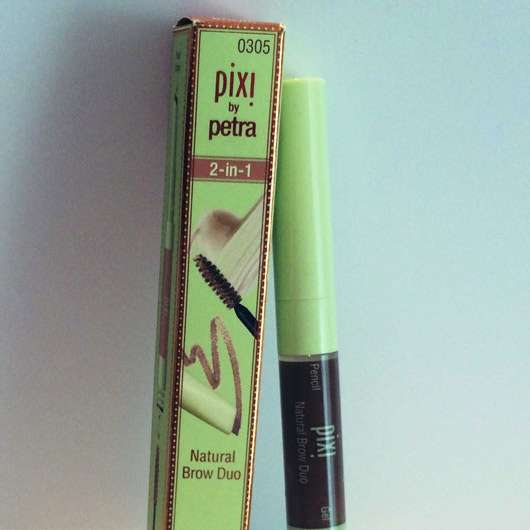 Pixi 2-in-1 Natural Brow Duo, Farbe: Natural Brown