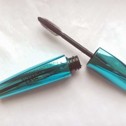 Manhattan Supreme Lash Mascara Waterproof, Farbe: 1010N Black