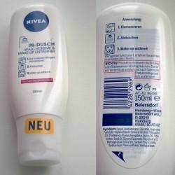 Produktbild zu NIVEA In-Dusch Waschcreme & Make-up Entferner (trockene & sensible Haut)