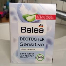 Produktbild zu Balea Sensitive Deotücher
