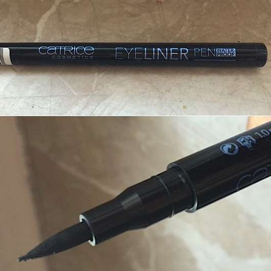 Catrice Eyeliner Pen Waterproof, Farbe: 010 Black