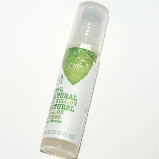 The Body Shop 100% natürlicher Lippen Roll-On Minze