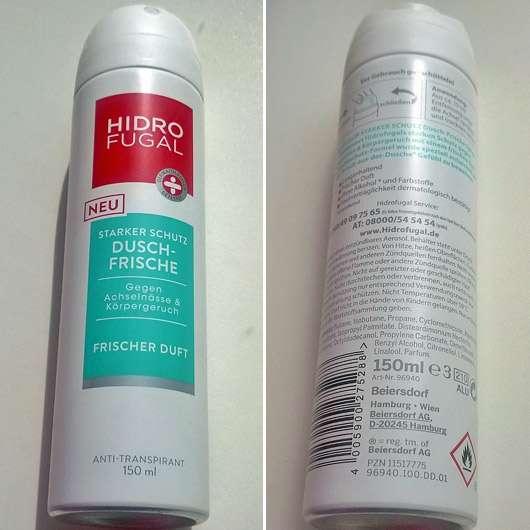Hidrofugal Dusch-Frische Anti-Transpirant Spray