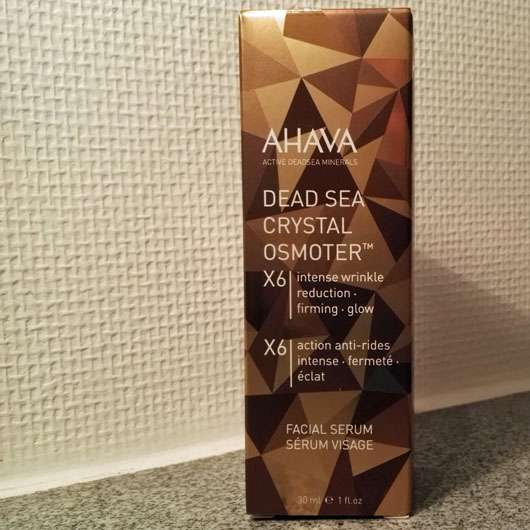 AHAVA Dead Sea Crystal Osmoter 6X Facial Serum