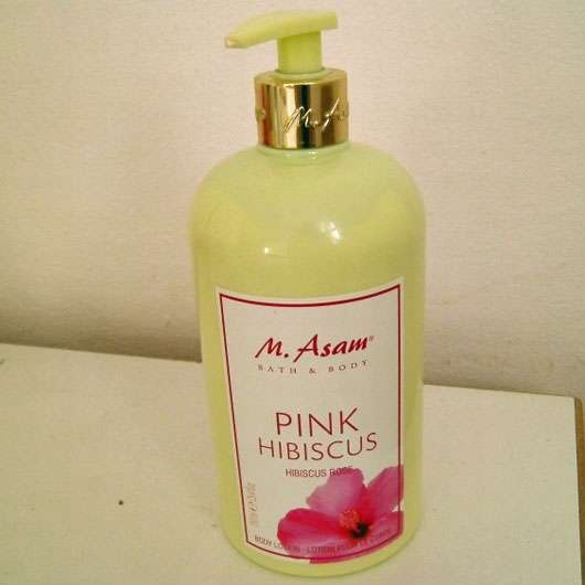 M. Asam Pink Hibiscus Body Lotion (LE)