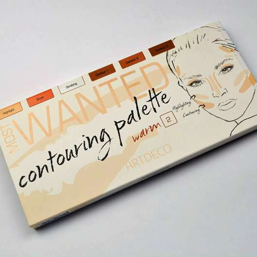 ARTDECO Most Wanted Contouring Palette, Farbe: 2 Warm (LE)