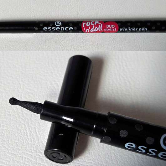 essence rock'n'doll duo stylist eyeliner pen, Farbe: black