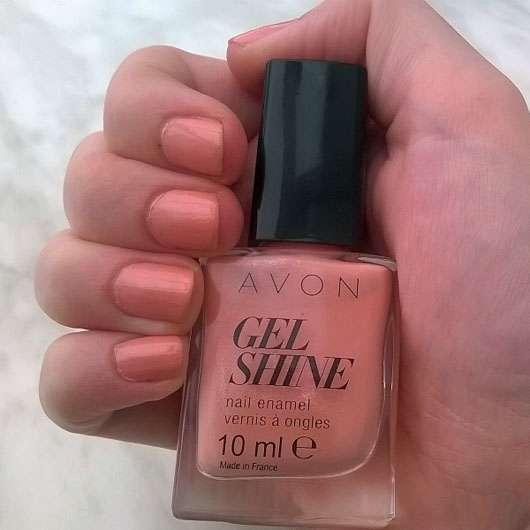 test nagellack avon gel shine nagellack farbe dazzle pink testbericht von sunny 993. Black Bedroom Furniture Sets. Home Design Ideas