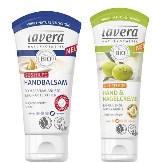Neue Pflegeserie von lavera sorgt für zart gepflegte Hände