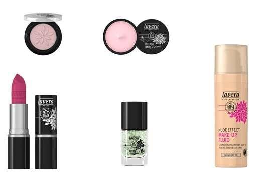 Frische Farben für lavera colour cosmetics
