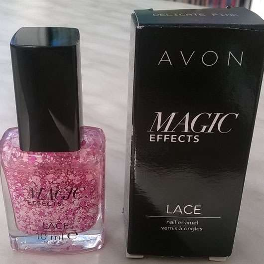 AVON Magic Effects Lace Nail Enamel, Farbe: Delicate Pink