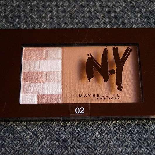 Maybelline Bricks Bronzer, Farbe: 02 Brunettes (LE)
