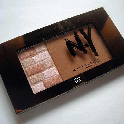 Maybelline New York Bricks Bronzer, Farbe: 02 Brunettes (LE)